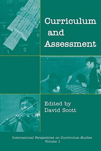 Curriculum and Assessment:: David Scott