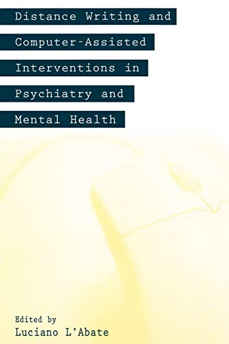 9781567505245: Distance Writing and Computer-Assisted Interventions in Psychiatry and Mental Health (Developments in Clinical Psychology)