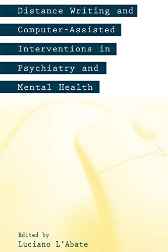 9781567505252: Distance Writing and Computer-Assisted Interventions in Psychiatry and Mental Health (Developments in Clinical Psychology)