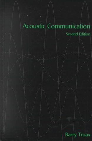 9781567505368: Acoustic Communication