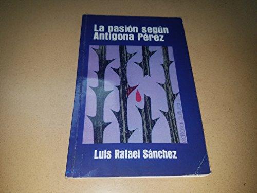 9781567589795: La Pasión Según Antígona Pérez