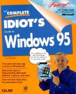 9781567614954: The Complete Idiot's Guide to Windows 95/Book and Cd