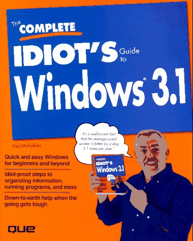 9781567615463: The Complete Idiot's Guide to Windows 3.1