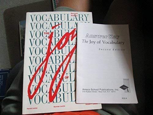 9781567650358: The Joy of Vocabulary