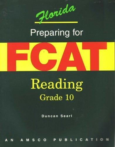 Preparing for FCAT Reading, Grade 10: Searl, Duncan
