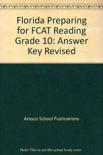 9781567650587: Preparing for FCAT Reading (Grade 10)