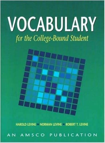 9781567651225: Vocabulary for the College Bound Student