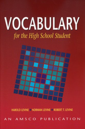 9781567651270: Vocabulary for the High School Student