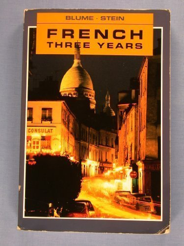 9781567653014: French Three Years: Review Text