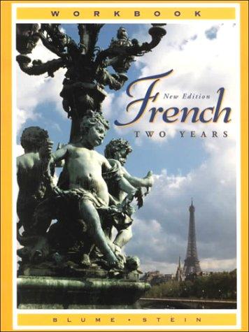 French Two Years (527W): Eli Blume, Gail
