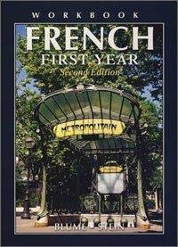 French 9781567653380 French First Year, second edition by Gail Stein & Eli Blume is designed to give students a comprehensive review and understanding of the