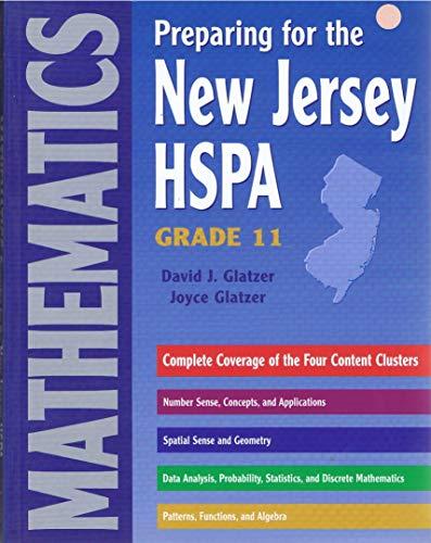 Preparing for the New Jersey HSPA Mathematics: Joyce Glatzer David