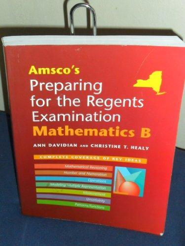 9781567655568: Preparing for the Regent's Examination: Mathematics B