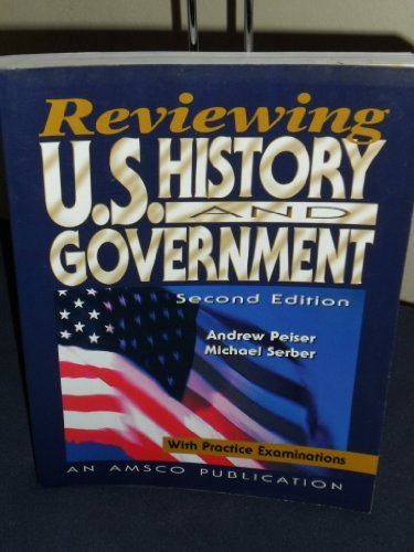 9781567656183: Reviewing Us History And Government With Practice Examinations