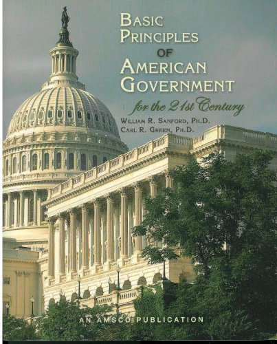 9781567656312: Basic Principles of American Government