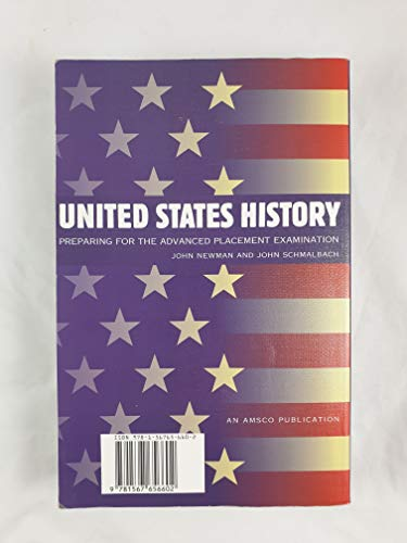 9781567656602: United States History: Preparing for the Advanced Placement Examination