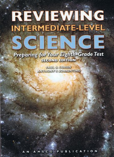 9781567659313: Reviewing Intermediate Level Science: Preparing for Your Eighth-Grade Test
