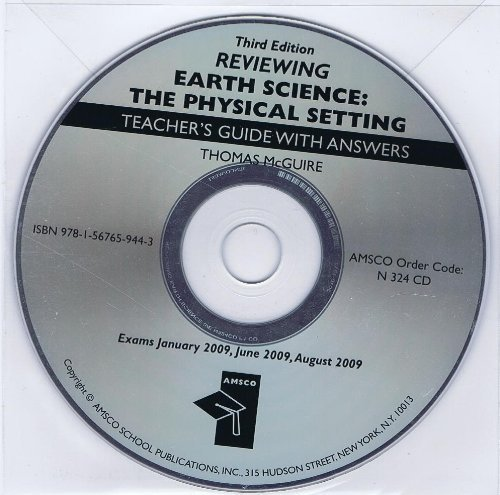 9781567659443: Reviewing Earth Science: The Physical Setting 3rd Edition Answer Key