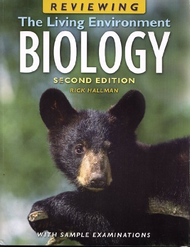 9781567659450: Reviewing the Living Environment Biology (With Sample Examinations)