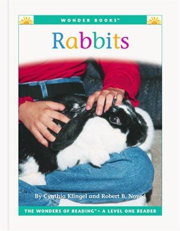 9781567668001: Rabbits (Wonder Books: Level 1 Pets)