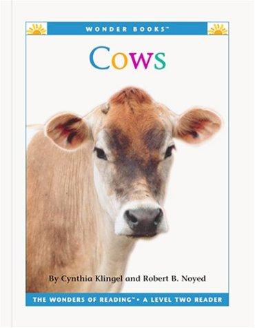 Cows (Wonder Books: Level 2 Farm Animals): Klingel, Cynthia Fitterer