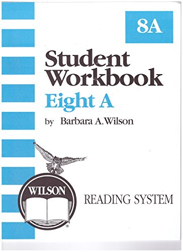 9781567780895: Student Workbook 8A (Wilson Reading System)