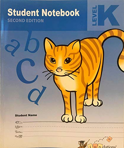 Student Notebook Level K Second Edition: Wilson