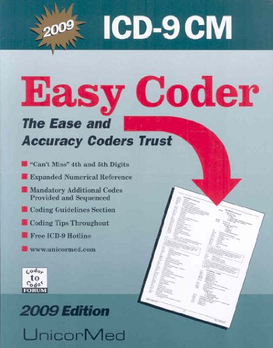 9781567812176: ICD-9 CM Easy Coder 2009: Comprehensive