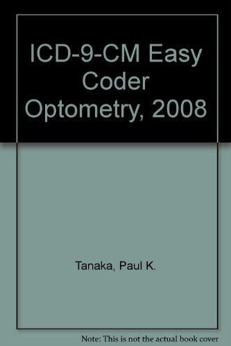 9781567815375: ICD-9-CM Easy Coder Optometry, 2008