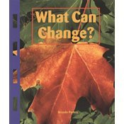 9781567845181: What Can Change?