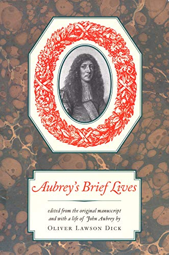 9781567920635: Aubrey's Brief Lives (Nonpareil Books)