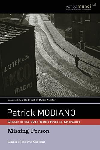 9781567922813: Missing Person (Verba Mundi) (Verba Mundi Book)