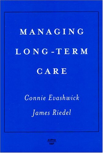 9781567932256: Managing Long-Term Care