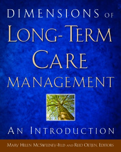 9781567933833: Dimensions of Long-Term Care Management: An Introduction