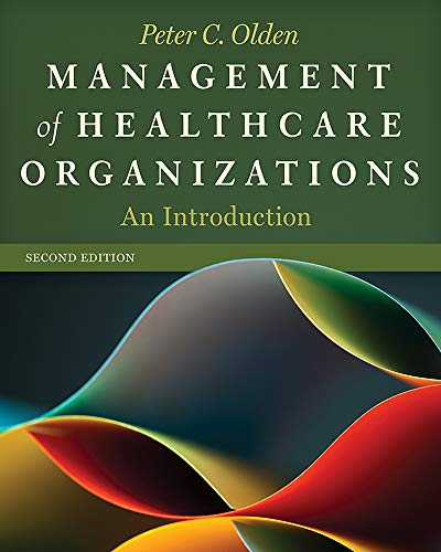 9781567936902: Management of Healthcare Organizations: An Introduction
