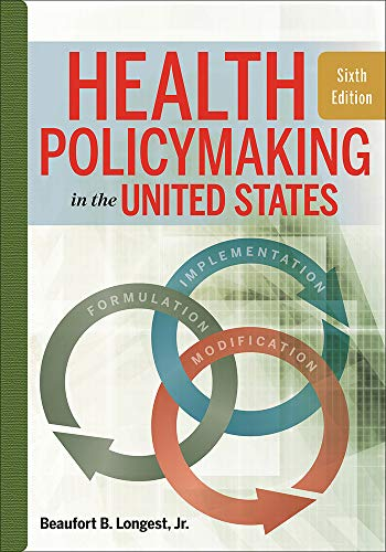 9781567937190: Health Policymaking in the United States, Sixth Edition