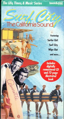 9781567991826: Life Times & Music Surf City California Sound Incl (The Life, Times and Music Book/CD Series)