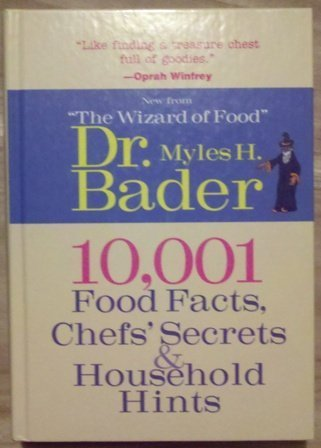 9781567998771: 10,001 Food Facts, Chefs' Secrets & Household Hints