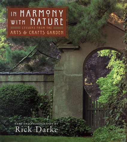 In Harmony with Nature - Lessons from the Arts & Crafts Garden