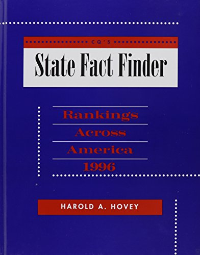 State Fact Finder 1996 Hardbound Edition (Cq's State Fact Finder): Harold A. Hovey