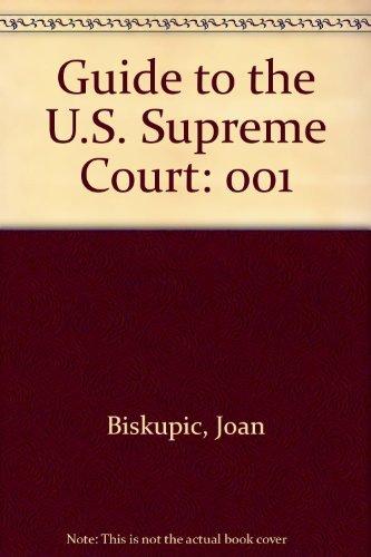9781568022369: Guide to the U.S. Supreme Court