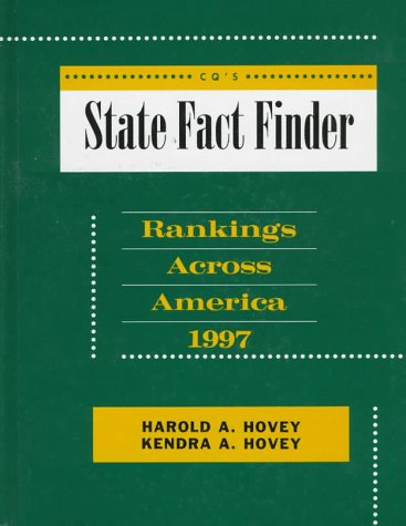 State Fact Finder 1997 Hardbound Edition (State Rankings)