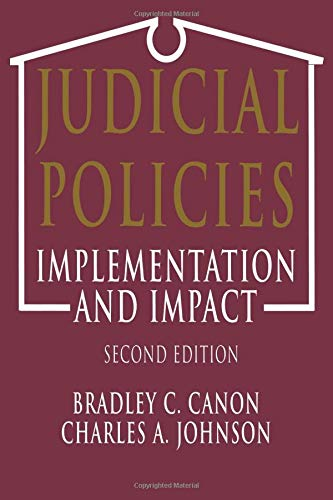 9781568023069: Judicial Policies: Implementation and Impact, 2nd Edition
