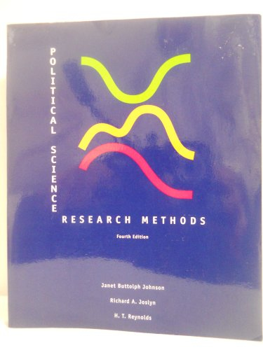 9781568023298: Political Science Research Methods