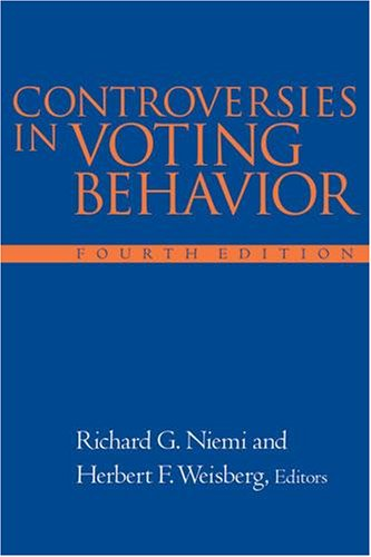 9781568023342: Controversies In Voting Behavior, 4th Edition