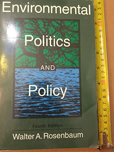 9781568023359: Environmental Politics and Policy