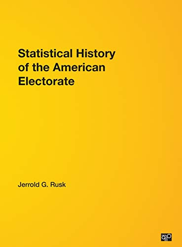 9781568023649: Statistical History Of the American Electorate