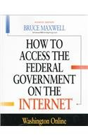 9781568023878: How to Access the Federal Government on the Internet
