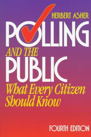 9781568024004: Polling and the Public: What Every Citizen Should Know