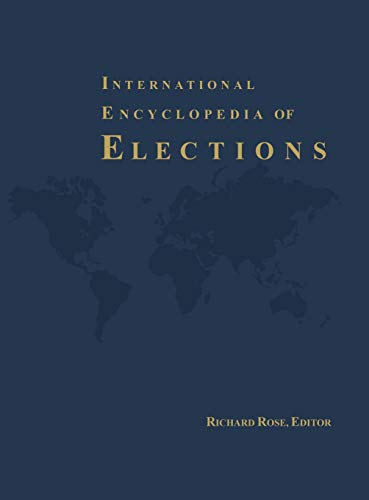 9781568024158: International Encyclopedia of Elections